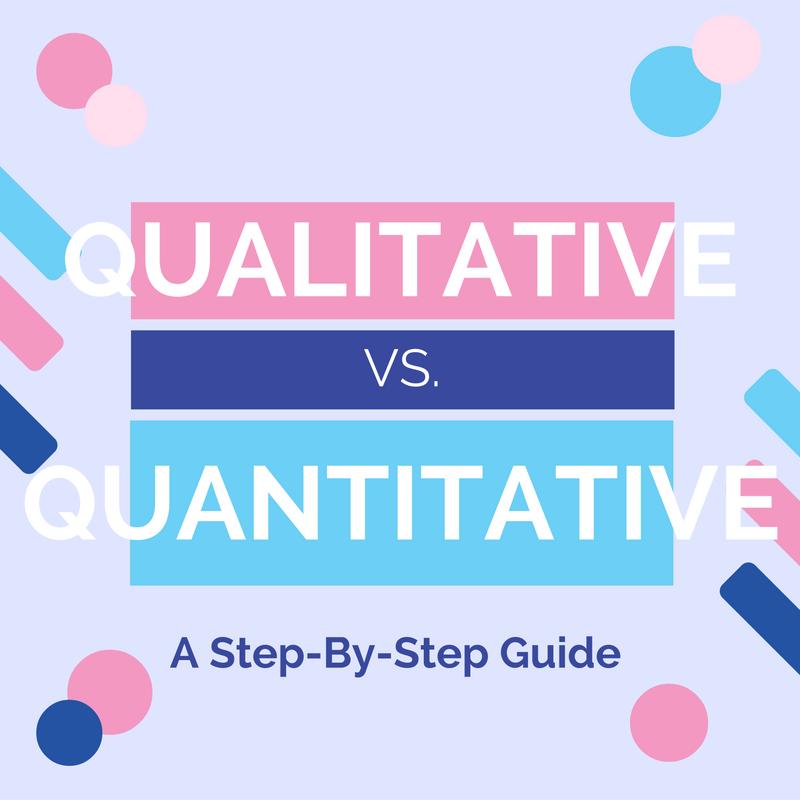 Qualitative vs. Quantitative Data